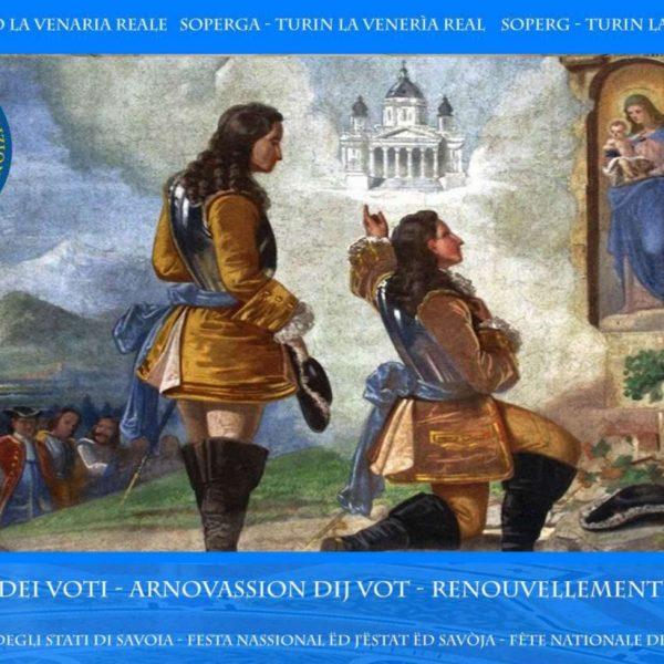 """11 e 12 settembre: appuntamento con il """"Rinnovo dei voti"""" di Superga e la Festa nazionale degli Stati di Savoia"""